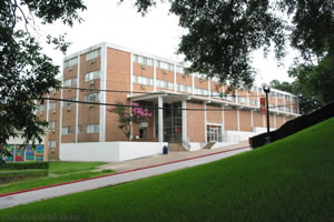 The Building of Sam Houston State University on baylor university buildings map, rice university buildings map, big bend national park map,